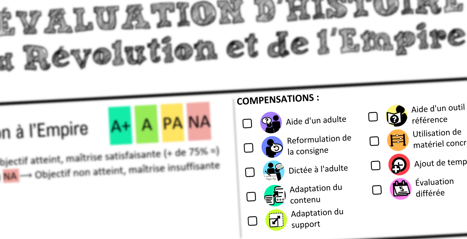 Comptensations evaluation
