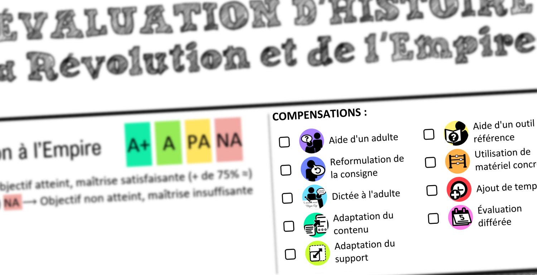 Comptensations evaluation