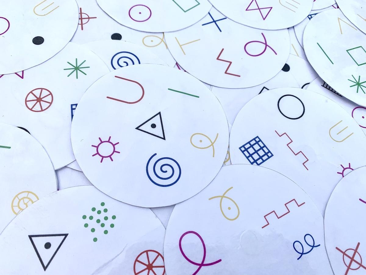 Jeu des symboles graphiques